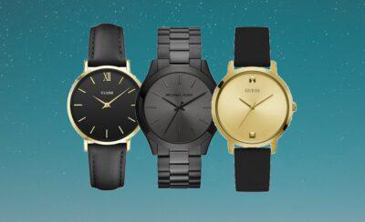 Horloge dames zwart
