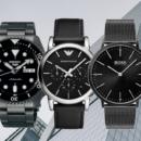 Horloge heren zwart