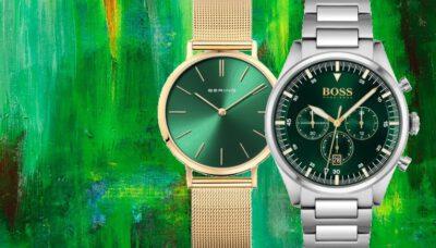 horloge groene wijzerplaat