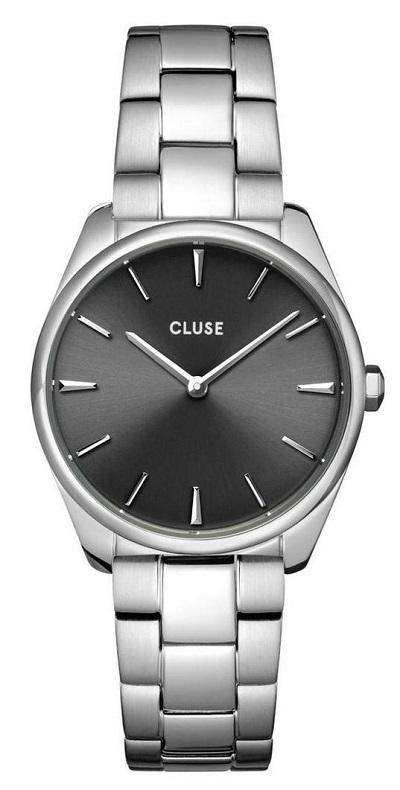 Cluse horloge dames zilver