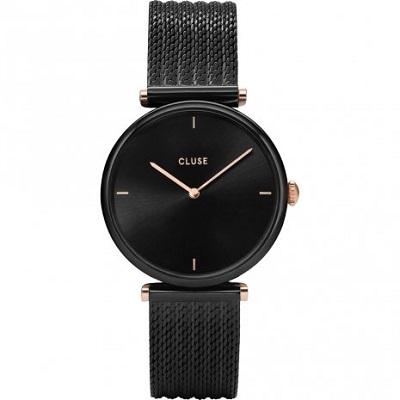 Cluse horloge dames zwart