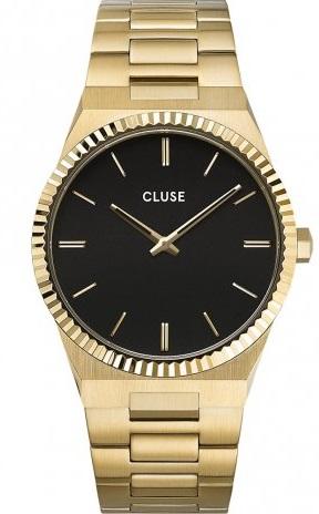 Gouden horloge heren Cluse