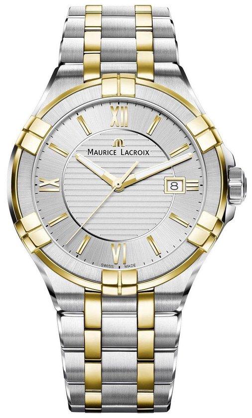 Maurice Lacroix horloge heren goud zilver