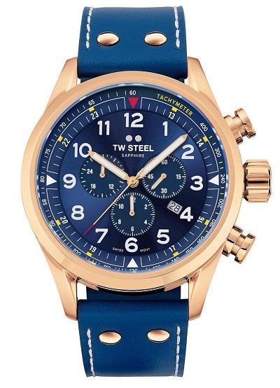 TW Steel horloge heren blauw
