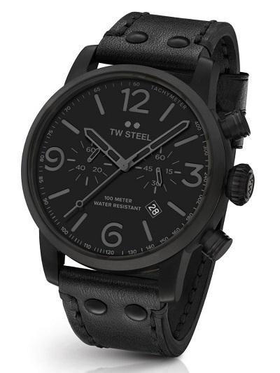 TW Steel horloge heren zwart