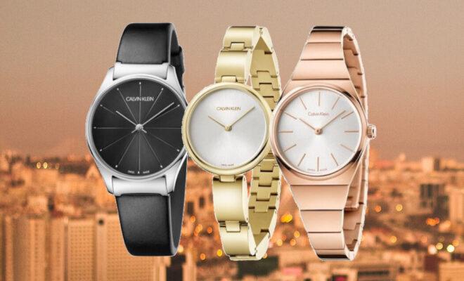 CK horloge dames header
